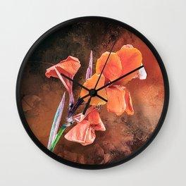 Orange Blossom Special Wall Clock