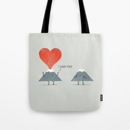 I Lava You Tote Bag