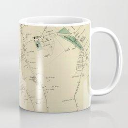 Vintage Map of Huntington NY (1873) Coffee Mug