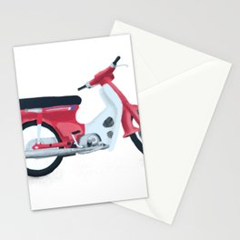 japan scooter Stationery Cards