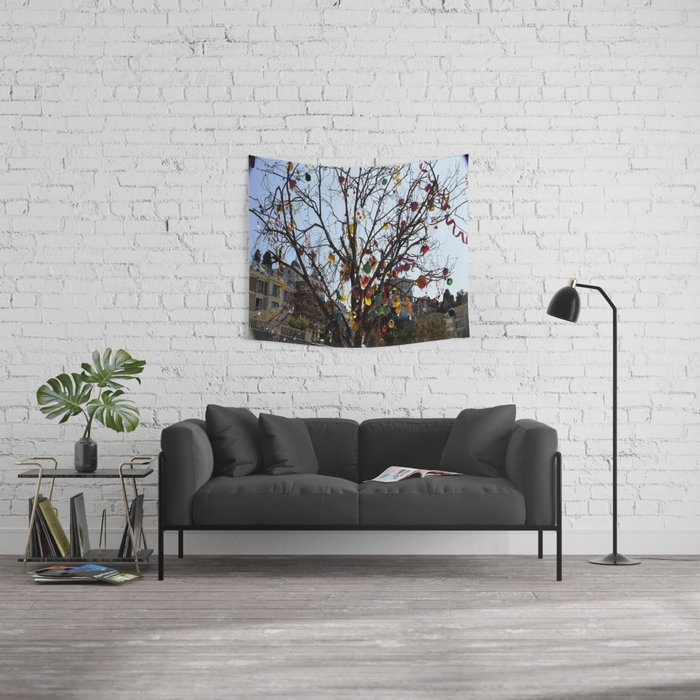 Bicycles  Wall Tapestry