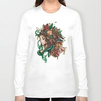 beast Long Sleeve T-shirts featuring BEAST by Tim Shumate
