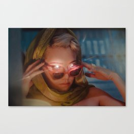 MIND READER Canvas Print