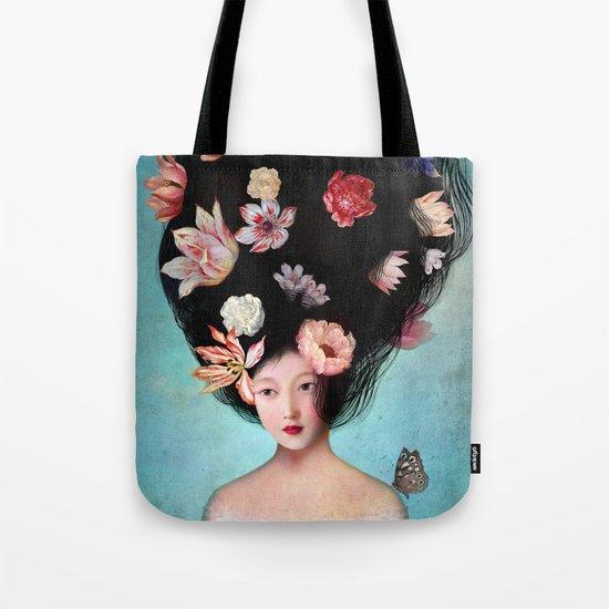 The Botanist's Daughter Tote Bag