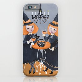 A Witchy Tea Party iPhone Case