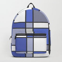 Blue Hue Checkers Backpack