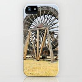 Fort Steel waterwheel iPhone Case