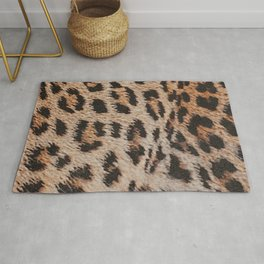Leopard pattern, leopard, big cat, animals Rug