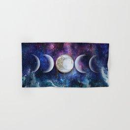 Celestial Ocean Moon Phases | Stay Wild Hand & Bath Towel