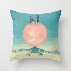 bayside high Throw Pillow