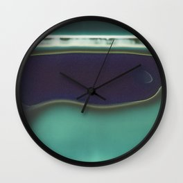 Instant Series: Teal Wall Clock