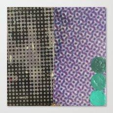eyes (halftone) Canvas Print
