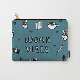 WORK VIBES Carry-All Pouch