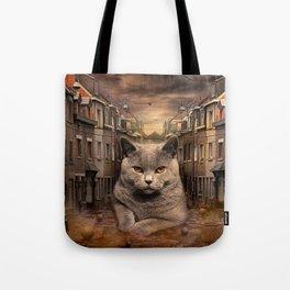 The City Cat Diesel Tote Bag
