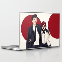 soviet Laptop & iPad Skins featuring Soviet Spouses on a Mission by Elithien