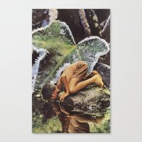 frames Canvas Prints featuring Reflective Frames by Brandon Dail