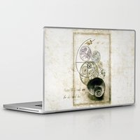 nietzsche Laptop & iPad Skins featuring everthing's connected by Sybille Sterk