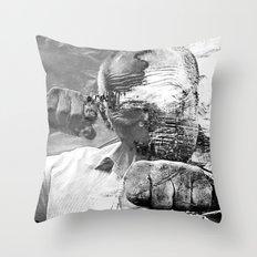 POW Papa Throw Pillow