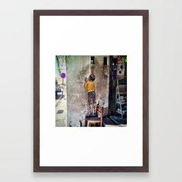 Reaching Up Framed Art Print