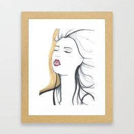 Leave her Wild Framed Art Print
