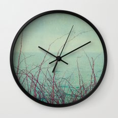 She Would Float and Stare at the Sky Wall Clock