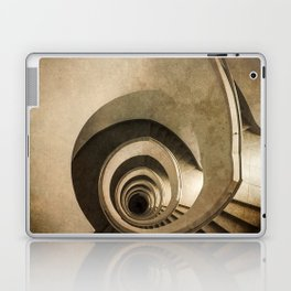 Spiral staircase in brown tones Laptop & iPad Skin