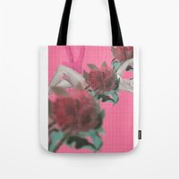 tote Tote Bags featuring tote by Taylor Alley