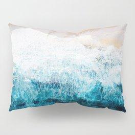 Watercolour Summer beach III Pillow Sham