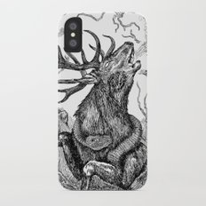Low roar iPhone X Slim Case