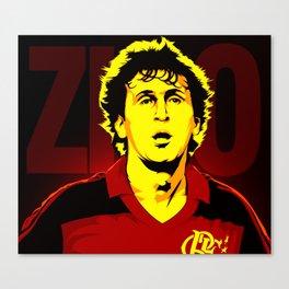 Zico Canvas Print