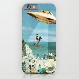 UFO Abduction iPhone Case