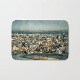 Lisbon sky view Bath Mat