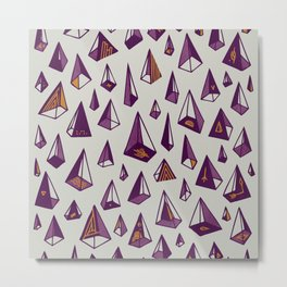 Triangles are my favorite shape Metal Print
