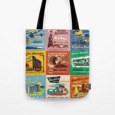 WES ANDERSON MATCHBOOK SERIES Tote Bag