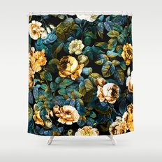 Night Forest IV Shower Curtain