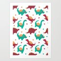 The Dinosaurs Pattern by haidishabrina