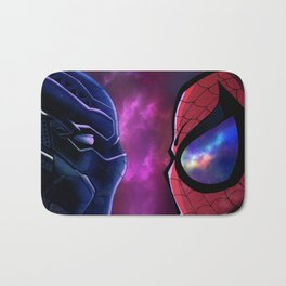 Panther vs Spidey Bath Mat
