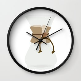 Slow Pour Wall Clock