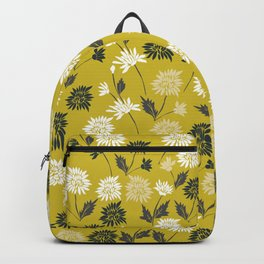 Chinoiserie pattern with flowers Backpack
