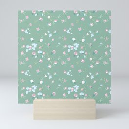 Polyhedral Dice- Mossy Spring Mini Art Print