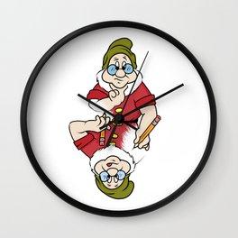 Pair 'O Docs Paradox Wall Clock