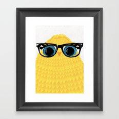 Nerd Chick Framed Art Print