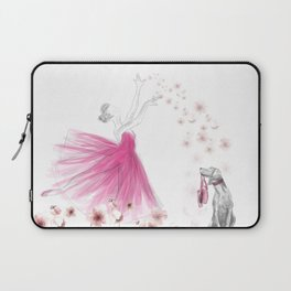 DANCE OF THE CHERRY BLOSSOM Laptop Sleeve