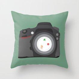 Starving Artist Throw Pillow