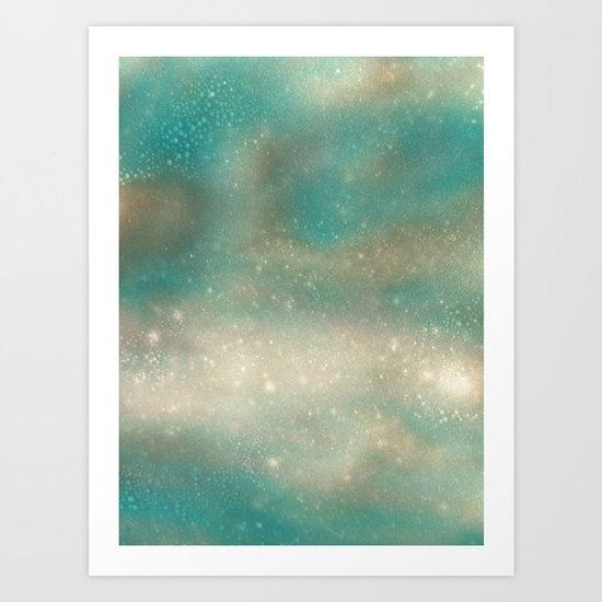 Postcard from Pluto Art Print