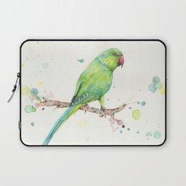Rose Ringed Parakeet Laptop Sleeve