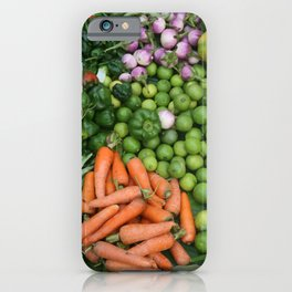 Asia vegetables on market #society6 #vegetables iPhone Case