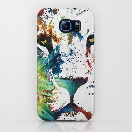 Colorful Lion Art By Sharon Cummings iPhone Case