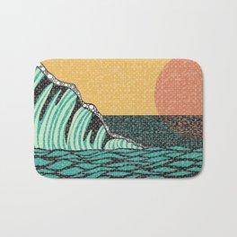 Sunrise V Bath Mat