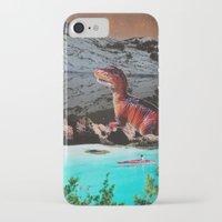 dinosaur iPhone & iPod Cases featuring Dinosaur by John Turck